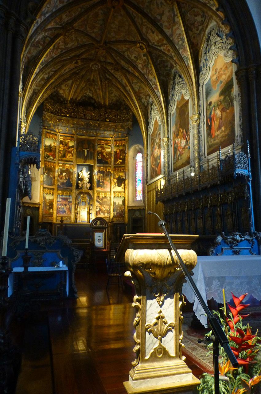 Magnifique retable du XVIe siècle