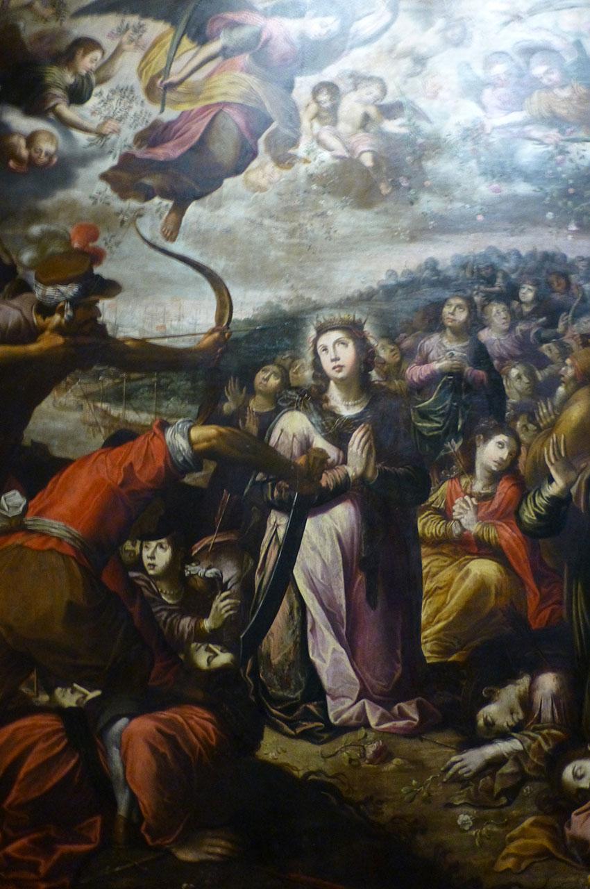 Sainte Ursule et les Onze Mille Vierges de Martin Conrado