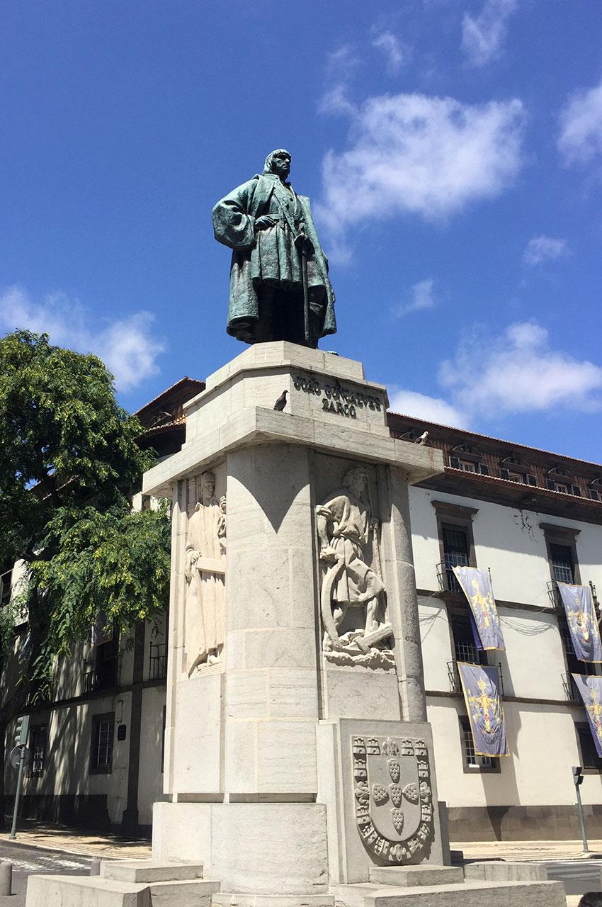 Statue João Gonçalves Zarco