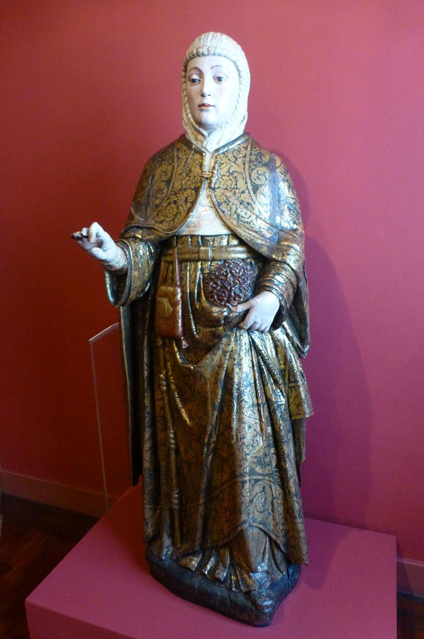 Statue de Sainte Élisabeth, reine du Portugal