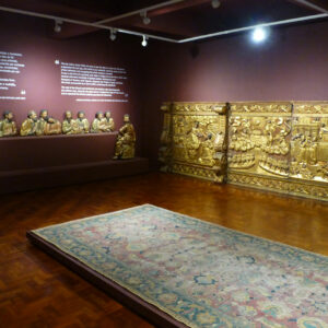 Une des salles du musée d'art sacré