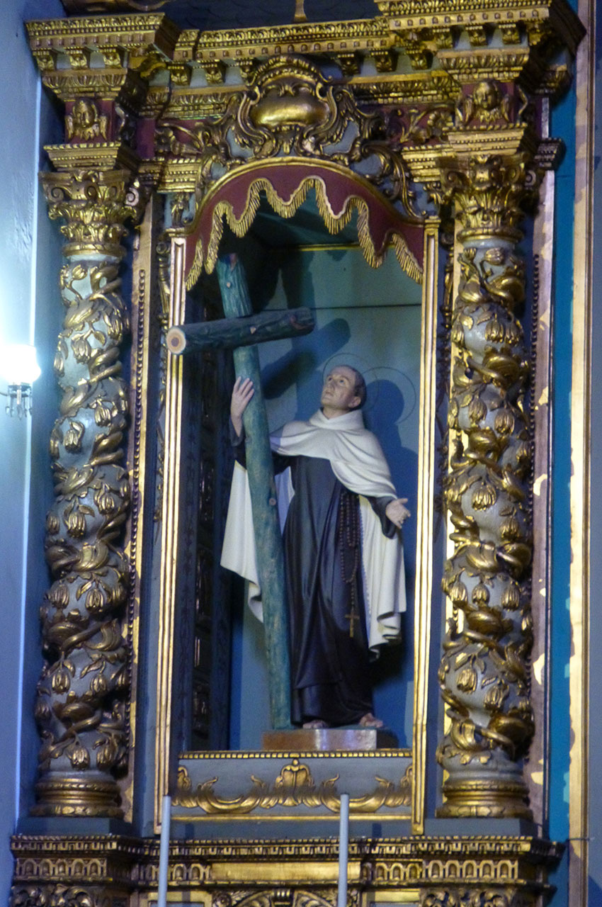 Architecture baroque et maniériste dans l'igreja do carmo