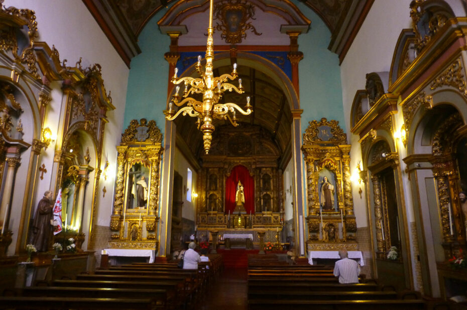 Intérieur de l'igreja do Carmo de Funchal
