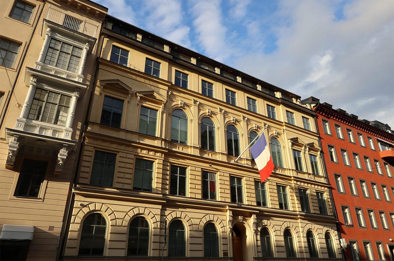 Ambassade de France en Suède