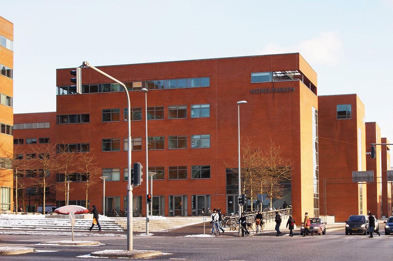 Bâtiments de style fonctionnaliste à Nebelparken