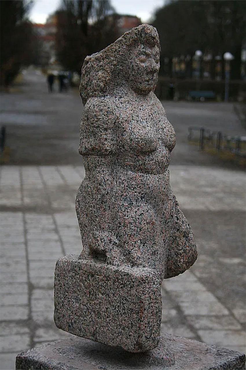 Statue Vacances d'une ménagère de Ohlsson