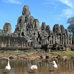 Le temple du Bayon, Angkor